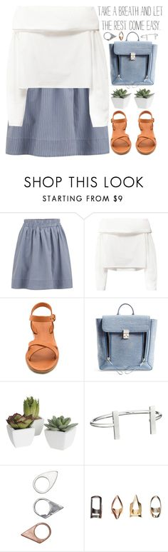 """""""take a breath"""" by evangeline-lily ❤ liked on Polyvore featuring Marc by Marc Jacobs, Madewell, 3.1 Phillip Lim, Pier 1 Imports, French Connection, Monki, marcjacobs, madewell and spring2016"""
