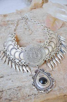 ORIGINAL necklace tribal fusion freepeople gypsy bellydance boho