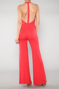 NEW BLACK WOMAN HOT SEXY SLEEVELESS JUMPSUIT TUBE LOOSE FITTING FULL WIDE LEG