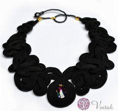 Jewelry soutache. Artistic Designer Jewelry Catherine Wojtak