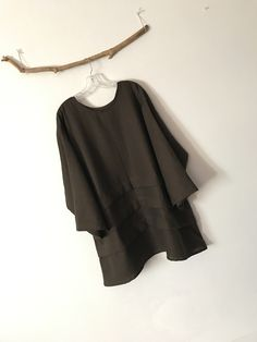 4 XL linen tunic made to order by Anny custom sizes and colors