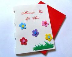 Capa para caderno em EVA - Dia das Mães