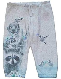 Little Girls Puppy Kitten Cropped. * Click on the image for additional details. (This is an affiliate link) #PantsCapris