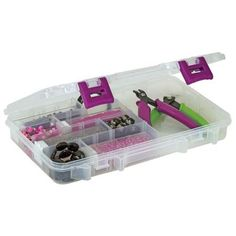 Lock away those tools and jewels in a Creative Options Pro-Latch Organizer, available now at Walmart.