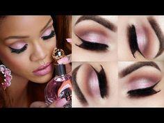 Tutorial - maquiagem romântica inspirada na Rihanna » Pausa para Feminices