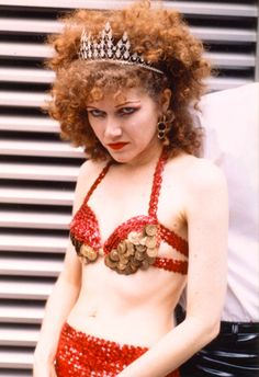 My real life 'guitar hero' - Poison Ivy of The Cramps <3