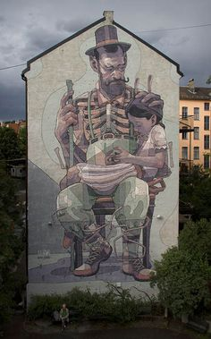 Triennial of Mural Art - Norwegian capital for the Oslo byAryz