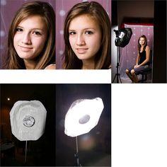 DIY lighting trick- LOVE!