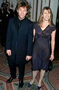 Love them ♡♡ Jon Bon Jovi and Dorothea Hurley