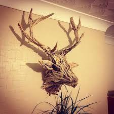 driftwood deer head - next project