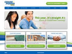 Grade Power Learning #Website #Design #WebDesign #Design #LongIsland #NY