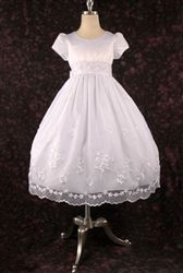 Little Girl First Communion and Baptism Dress, Style