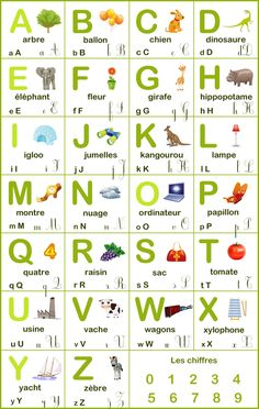 abécédaire Alphabet A, French Alphabet, Childrens Alphabet, Alphabet Images, French Flashcards, Flashcards For Kids, French Worksheets, French Language Lessons, French Language Learning