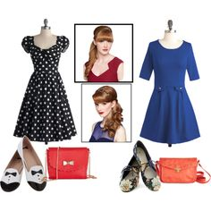 """""""Inspiring Date Mix'n'Match from Modcloth"""" by titachamberlin on Polyvore"""