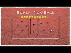 Physical Education Games - Super Kickball