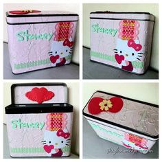 Hello+Kitty+Sizzix | Hello Kitty Tin Can