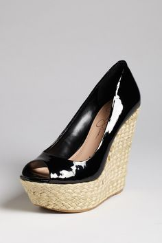 Jessica Simpson Sabini Wedge - yes I ordered the same shoe in 2 colors. So?! ;-)