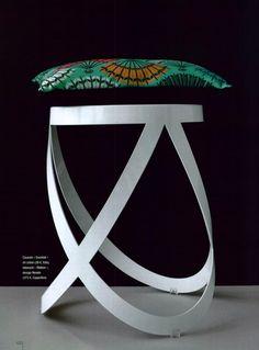 CAPPELLINI Ribbon stool by Nendo