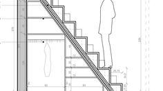 Montage d'un escalier à pas décalés