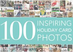 The latest on the Tiny Prints Blog! Have fun planning this year's holiday card. To help you get started we've collected 100 inspirational family photos showcasing various backdrops, props, poses and more.
