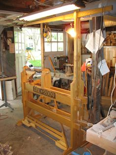 Spring pole lathedetails | A Woodworker's Musings