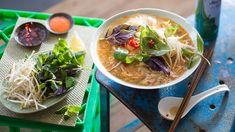 Blue swimmer crab and tomato vermicelli noodle soup (bun rieu) | Soup recipe…