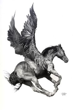 Pegasus by Julie Bell