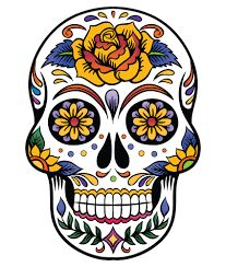 Image result for sugar skull paintings canvas