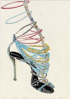 82a6cefd0eae3 29 Best Manolo Blahnik sketches... images   Fashion illustrations ...