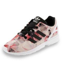 Femme Adidas Originals Superstar Lotus Print Chaussures Dust Rose Print/Running Blanche B35832