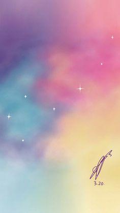 the big dipper [nct dream] -renjun art Drawing Wallpaper, Iphone Wallpaper, Heart Wallpaper, Wallpaper Rainbow, Wallpaper Fofos, Kpop Backgrounds, Big Dipper, Lock Screen Wallpaper, Aesthetic Wallpapers
