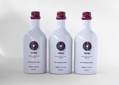 Petra - Greek Extra Virgin Olive Oil on Packaging of the World - Creative Package Design Gallery