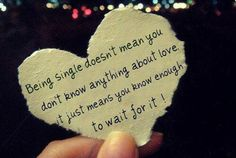 If you hate being single, you're doing it wrong....