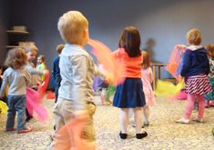 Book pairings with scarf activities: body awareness, colors, action.  Looks like fun!