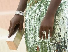 Lupita Nyong'o at the 2016 Metropolitan Museum of Art Costume Institute Gala – Manus x Machina: Fashion in the Age of Technology held at the Metropolitan Museum of Art in New York City on May 2, 2016