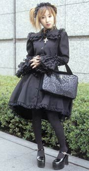 Gothic Lolita, as a more specific subset of Lolita fashion, has a great deal in common with Lolita style, in particular the nostalgic drive.