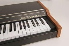 Roland mp-600 e-piano, 1978 vintage! (etc.. Rhodes, Wurlitzer) nussbaum enchapado!