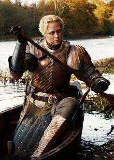 Game of Thrones - Brienne of Tarth Brienne Von Tarth, Brienne Got, Lady Brienne, Jaime And Brienne, Cersei Lannister, Game Of Thrones Sword, Game Of Thrones Brienne, Valar Morghulis, Valar Dohaeris
