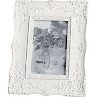 Home of Style Scroll Photo Frame - 4x6in