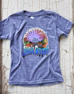 KIDS Armadillo sunset TEE - Junk GYpSy co.