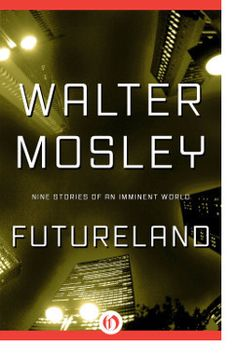 """http://bookbarbarian.com/futureland-by-walter-mosley/ The citizenry of America struggles for survival in a dangerous, twisted future  In """"Whispers in the Dark,"""" an ex-con sells his organs to ensure his brilliant nephew's future. The boy will grow up to have the highest IQ ever recorded, but the uncle, who sold his eyes, won't be able to see it. In """"Voices,"""" a history professor becomes addicted to a drug called pulse, which gives him access to a world of vivid fa"""
