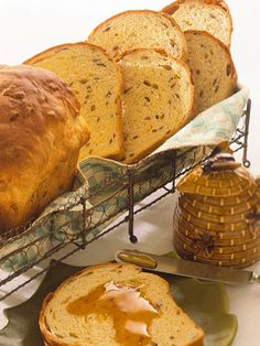Sunflower Seed Bread. This hearty bread has a wonderful crunch of sunflower seeds and a hint of orange flavor. This loaf is terrific plain or toasted and slathered with butter or orange marmalade.