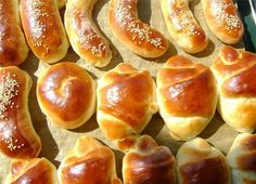 Backyard Bbq, Greek Recipes, Hot Dog Buns, Kids Meals, Biscuits, Bakery, Rolls, Bread, Snacks