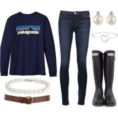 Patagonia (needs a scarf...maybe a vest, but I like this look a lot for winter)