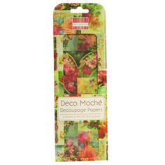First Edition Deco Mache Decoupage Papers Vintage Roses
