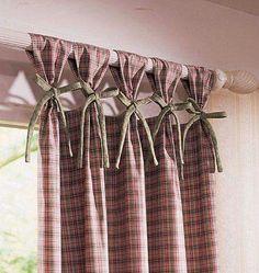 Kitchen curtains. .