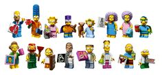 lego simpsons minifigures series 2 - Google keresés