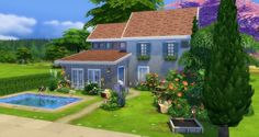 Studio Sims Creation: Les Olivades • Sims 4 Downloads