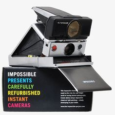 Sonar Silver Camera + 3 Films by The Impossible Project | MONOQI