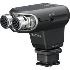 แนะนำวันนี้<SP>Sony Stereo Microphone รุ่น ECM-XYST1M (Black)++Sony Stereo Microphone รุ่น ECM-XYST1M (Black) Works with the Sony Multi-Interface Shoe Compatible with Sony Handycam Camcorders Frequency Band from 0 to 120° Includes Windscreen, Pouch & Audio Ca ...++